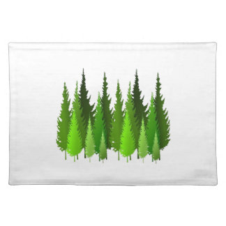 EVERGREEN WAYS PLACEMAT