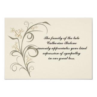 Everlasting - Bereavement Thank You Notecard