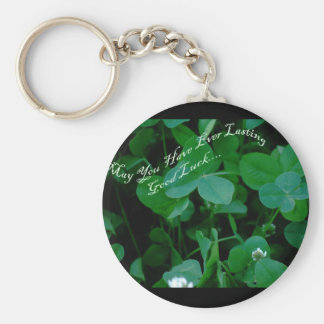 Everlasting Good Luck - Four Leaf Clover Products Keychain