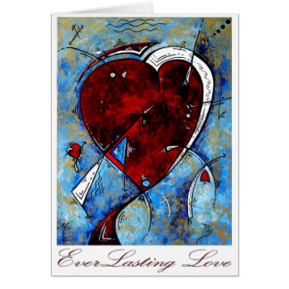 """Everlasting Love"" Original Heart Design by MADART Card"