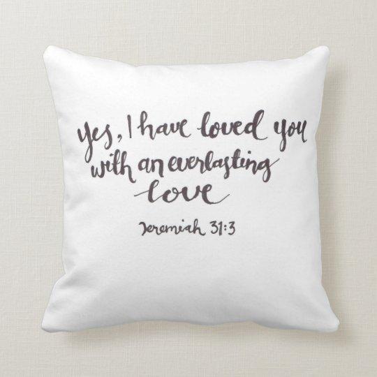everlasting love pillow