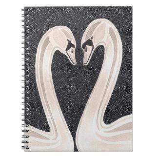 Everlasting Love Spiral Note Book