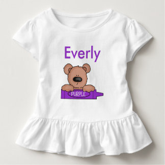 Everly's Personalized Teddy Toddler T-shirt