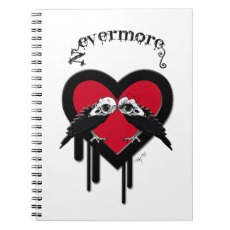 Evermore (Black Lettering) Notebook