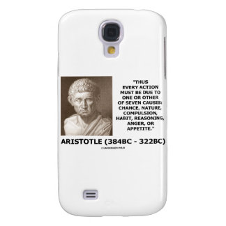 Every Action Must Due One Seven Causes Aristotle HTC Vivid / Raider 4G Cover