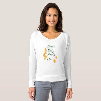 Every Body Needs Oils T-shirt