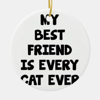 Every Cat Ever Ceramic Ornament