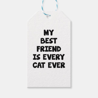 Every Cat Ever Gift Tags