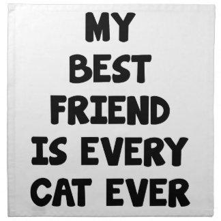 Every Cat Ever Napkin