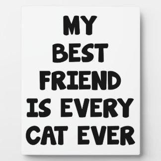 Every Cat Ever Plaque