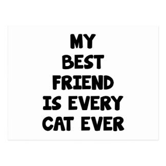 Every Cat Ever Postcard