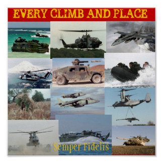 Every Climb and Place Poster