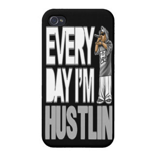 Every Day I'm Hustlin - iPhone 4 Case