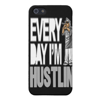 Every Day I'm Hustlin - iPhone 5 Case