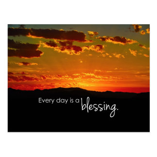 Every Day is a Blessing Postcard