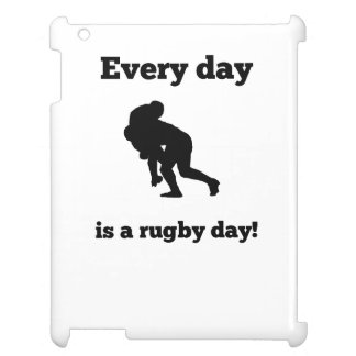 Every Day Is A Rugby Day iPad Cover