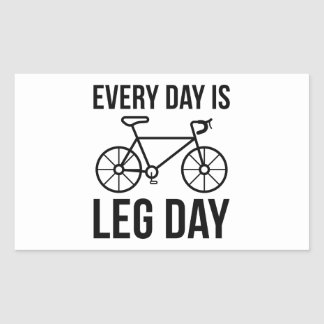 Every Day Is Leg Day Sticker
