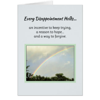 Every Disappointment Holds... Card