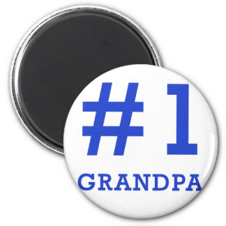 Every Grandpa Deserves a #1 Grandpa Tshirt! Fridge Magnet