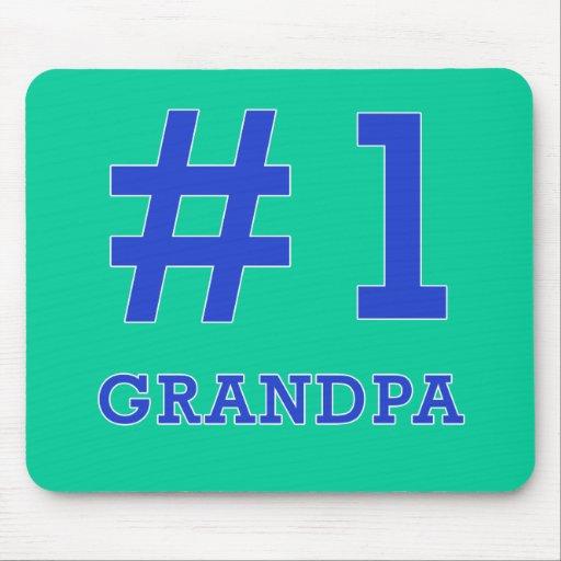 Every Grandpa Deserves a #1 Grandpa Tshirt! Mousepad