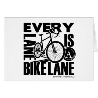 Every Lane A Bike Lane Card