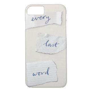 Every Last Word Phone Case