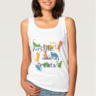 Every Life Deserves 9 Cats Funny Cat Quote Tank Top