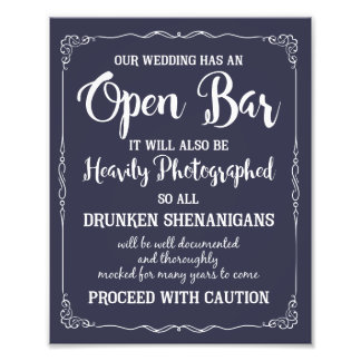 every love story is beautiful wedding sign photographic print