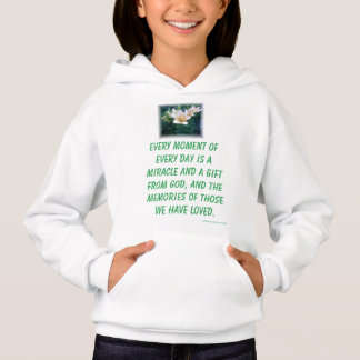 EVERY MOMENT A MIRACLE GIRL'S SWEATSHIRT