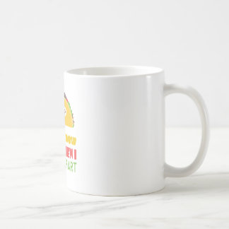 Every Now And Then I Fall Apart Funny Taco Tuesday Coffee Mug