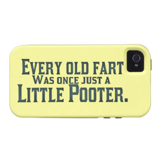 Every Old Fart Was Once Just A Little Pooter Case-Mate iPhone 4 Cases