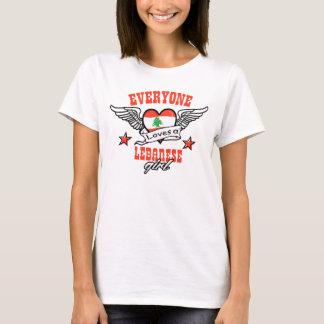 Every one loves a Lebanese girl T-Shirt