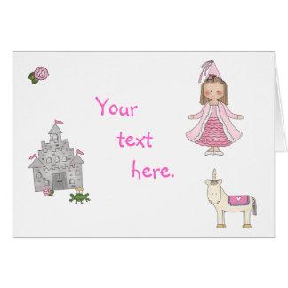 Every Princess - custom Note Card