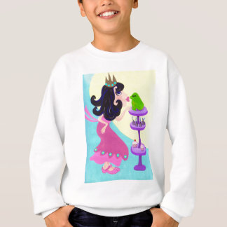 Every Princess has to kiss a lot of Frogs Sweatshirt