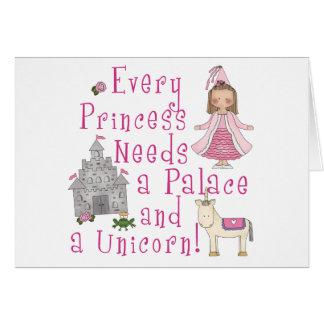 Every Princess Note Card