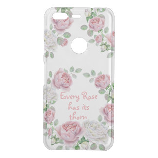 Every Rose Has Its Thorn Quote or Your Text Here Uncommon Google Pixel Case