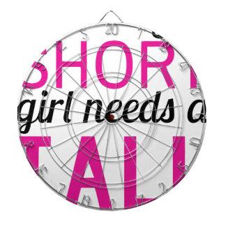 every short girl needs a tall bestfriend dartboard