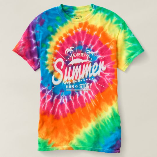 Every Summer has a Story! Summer Quote. T-shirt