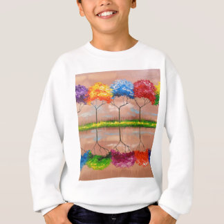 Every tree by its smell sweatshirt