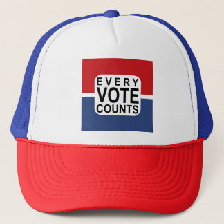 Every vote counts hat