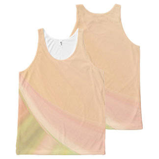 Every Which Way Peach All-Over-Print Tank Top