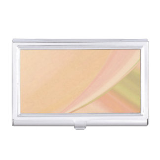 Every Which Way Peach Business Card Holder