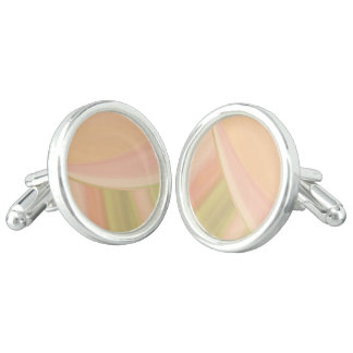 Every Which Way Peach Cuff Links