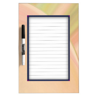 Every Which Way Peach Dry Erase Board