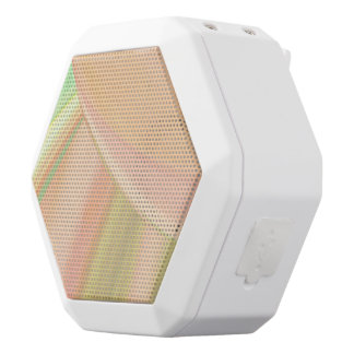 Every Which Way Peach White Bluetooth Speaker