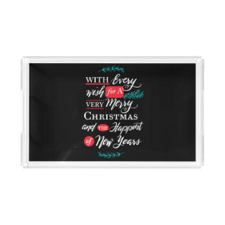 Every wish Acrylic Tray