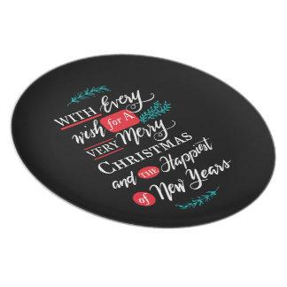 Every wish Plate