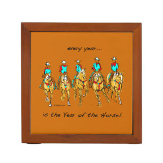 Every Year is The Year of the Horse DESK ORGANIZER