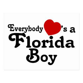 Everybody Hearts a Florida Boy Postcard