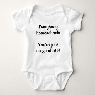 Everybody homeschools tee shirt